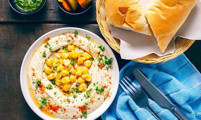 3 ארוחה זוגית במסעדת אבו זאקי - בן יהודה, תל אביב