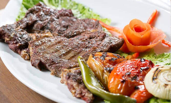 4 ארוחה זוגית במסעדת אבו זאקי - בן יהודה, תל אביב