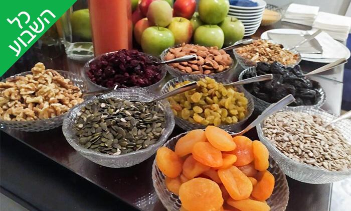 7 ארוחת בוקר בופה במלון ליידי שטרן, ירושלים