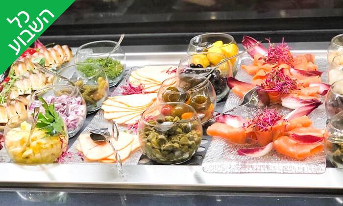 2 ארוחת בוקר בופה במלון ליידי שטרן, ירושלים