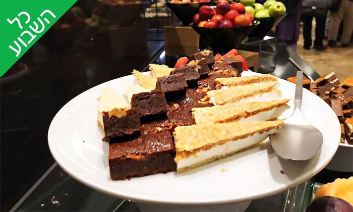 9 ארוחת בוקר בופה במלון ליידי שטרן, ירושלים