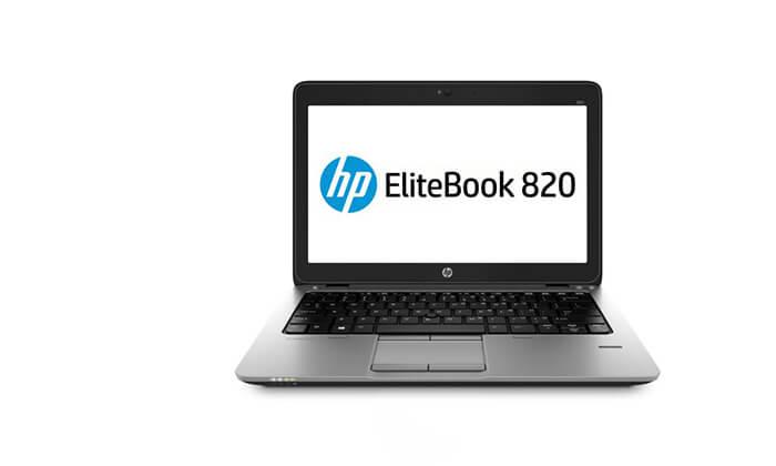 5 מחשב נייד HP עם תיק צד מתנה