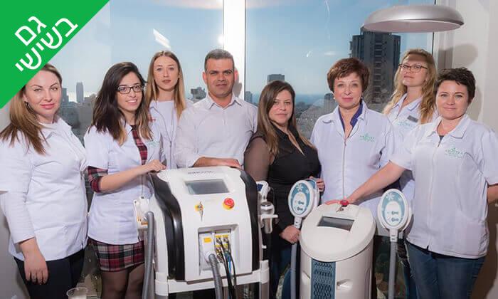 5 טיפול פנים פילינג יהלום באמטרה מדיקל, תל אביב