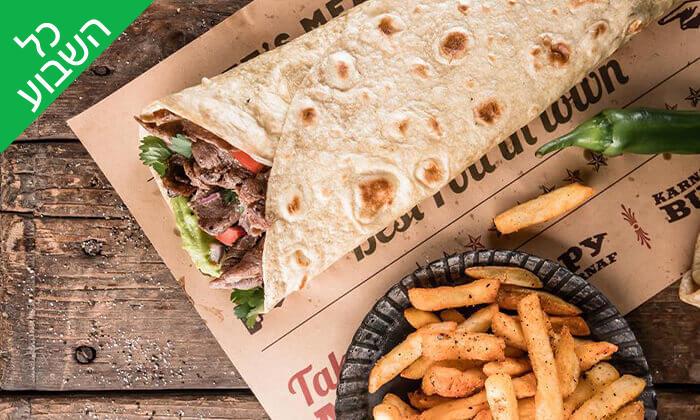 """8 מסעדת קרנף הכשרה - ארוחה בסניף לונדון מיניסטור, ת""""א"""