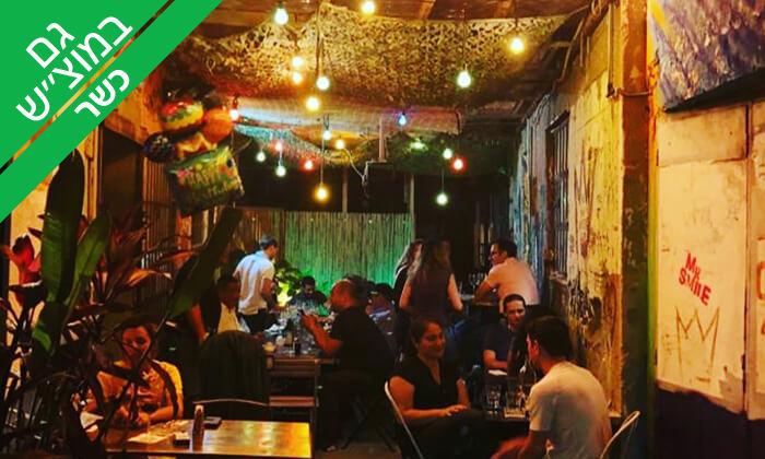 4 ארוחה זוגית כשרה ב'פאבלה' טאפאס בר - פלורנטין, תל אביב