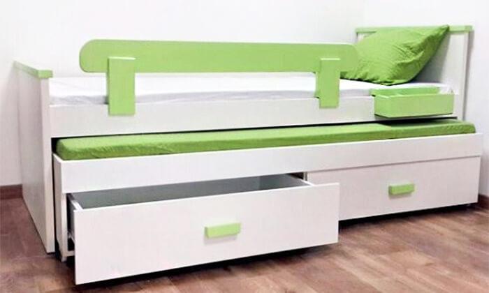 4 מיטת ילדים נפתחת