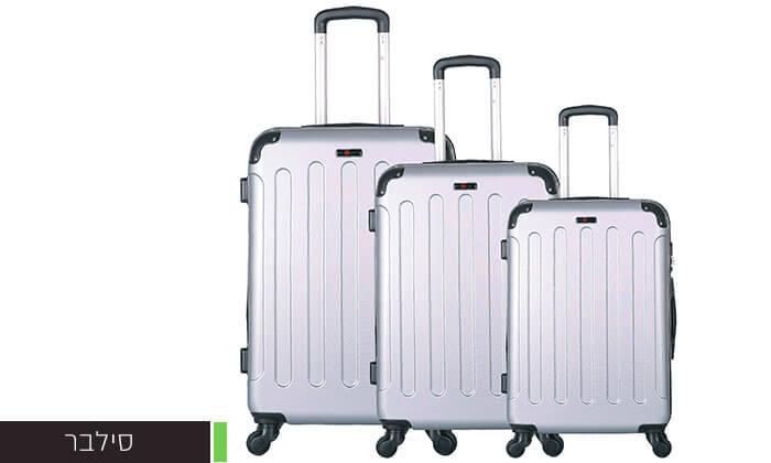 3 סט מזוודות קשיחותSWISS LONDON