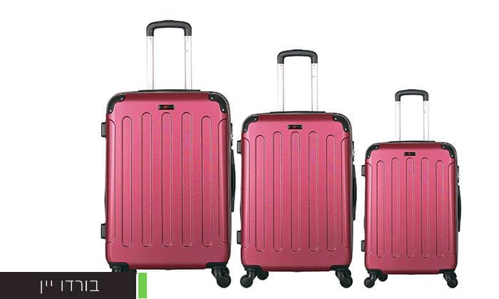 4 סט מזוודות קשיחותSWISS LONDON