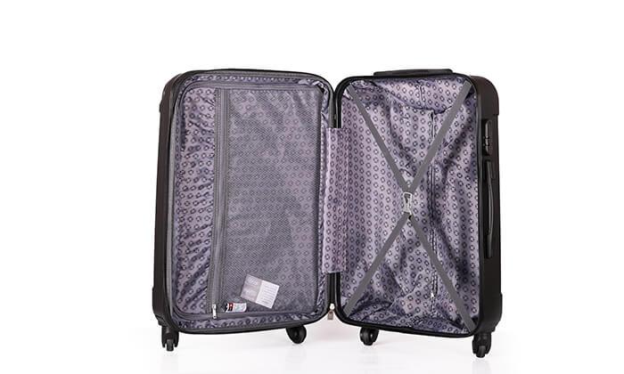 7 סט מזוודות קשיחותSWISS LONDON