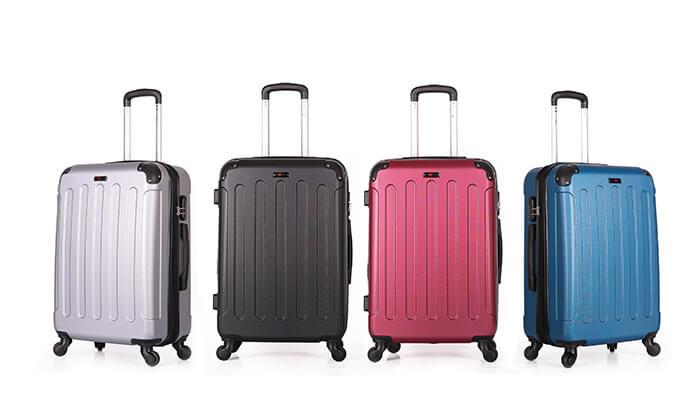 8 סט מזוודות קשיחותSWISS LONDON
