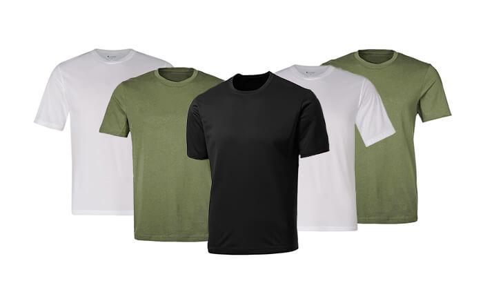 6 סט5 חולצות מנדפות זיעה