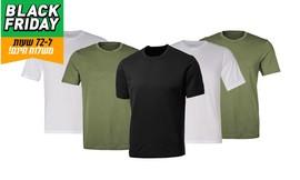 5 חולצות מנדפות זיעה