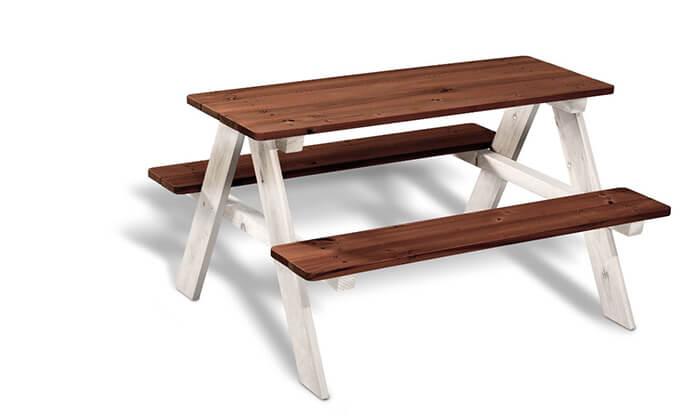 4 שולחן פיקניק לילדים
