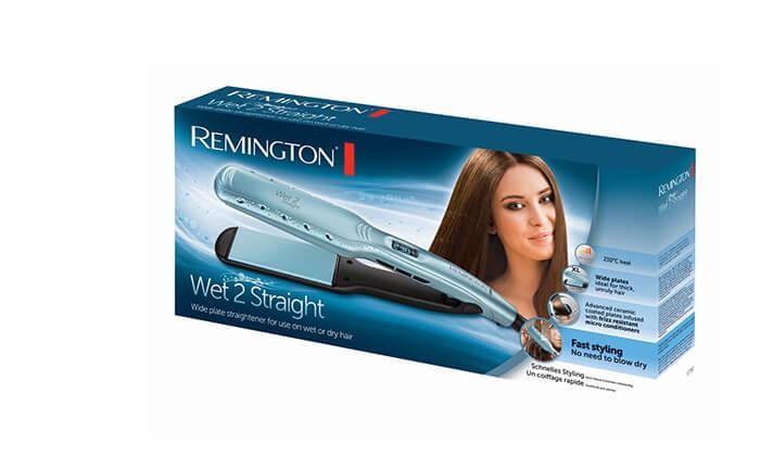 3 מחליק שיער רחב REMINGTON, דגם S7350
