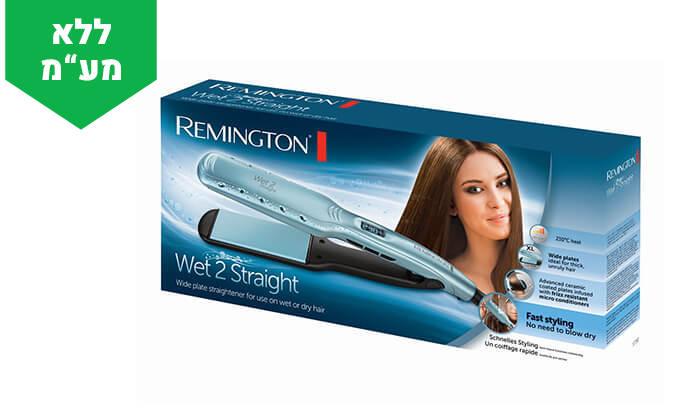 3 מחליק שיער רחב REMINGTON