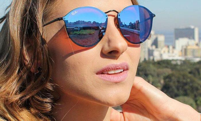 2 משקפי שמש לגבר ולאישה Ray-Ban