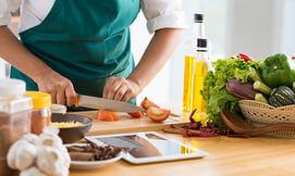סדנת בישול עם שף בבית הלקוח