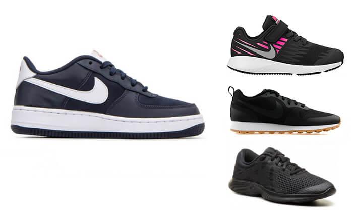 2 נעלי NIKE לגברים, נשים וילדים