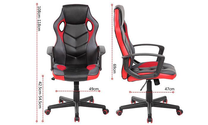7 כיסא גיימרים NINJA Extrim - משלוח חינם