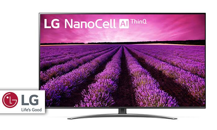 טלוויזיה SMART 4K LG, מסך 49 אינץ' - משלוח חינם
