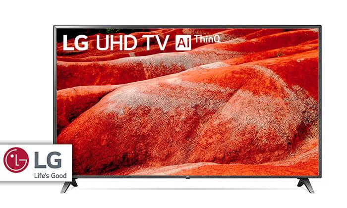 טלוויזיה SMART 4K LG, מסך 86 אינץ' - משלוח חינם