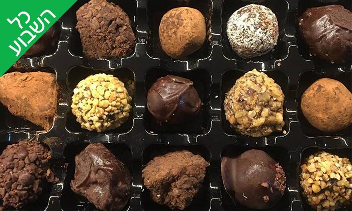 14 מארז פרלינים ואייס קקאו, COCO - Vegan Chocolate & Cacao Temple בפלורנטין