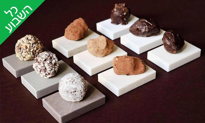 2 מארז פרלינים ואייס קקאו, COCO - Vegan Chocolate & Cacao Temple בפלורנטין
