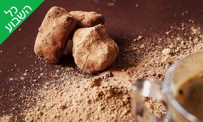12 מארז פרלינים ואייס קקאו, COCO - Vegan Chocolate & Cacao Temple בפלורנטין