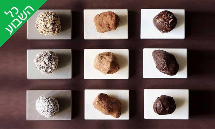 11 מארז פרלינים ואייס קקאו, COCO - Vegan Chocolate & Cacao Temple בפלורנטין