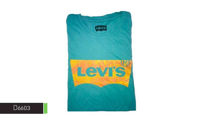 4 חולצת טי-שירט LEVIS לגבר
