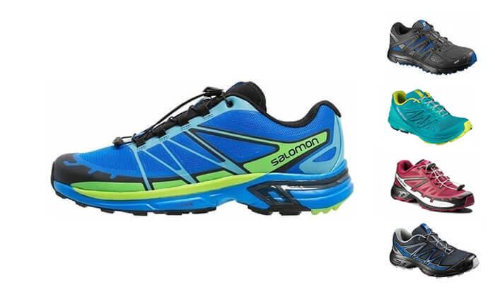 2 נעלי ריצה לגברים ולנשים סלומון Salomon