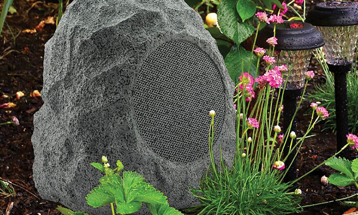 5 רמקול Bluetooth עמיד במים לגינה - משלוח חינם