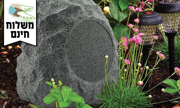 2 רמקול Bluetooth עמיד במים לגינה - משלוח חינם