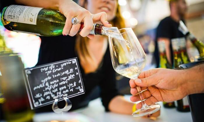2 כרטיס לפסטיבל 'חג היין' כולל טעימות וסדנה, מתחם התחנה בתל אביב