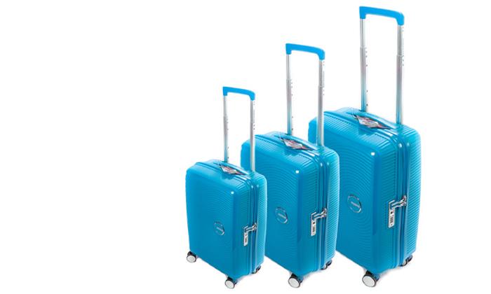 3 מזוודה קשיחה American Tourister מבית SAMSONITE