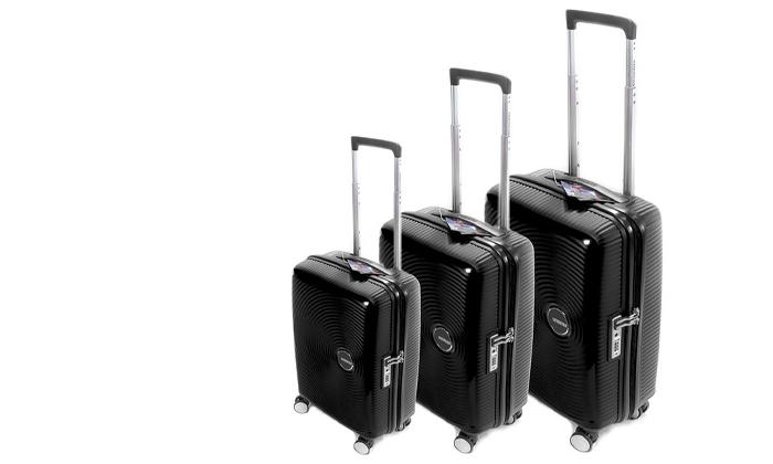 4 מזוודה קשיחה American Tourister מבית SAMSONITE