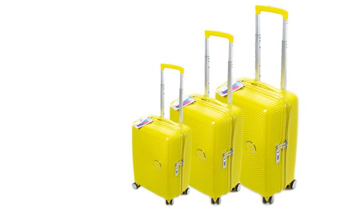2 מזוודה קשיחה American Tourister מבית SAMSONITE