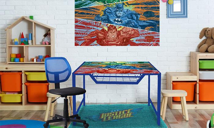 2 שולחן מחשב מעוצבSTREET ART
