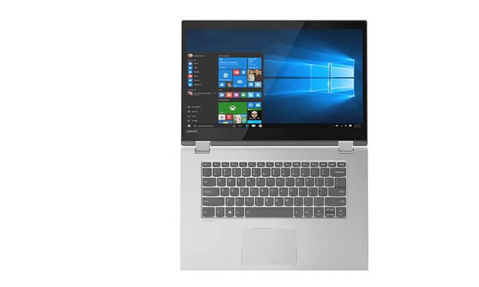 4 מחשב נייד Lenovo עם מסך מגע מתהפך 15.6 אינץ' - משלוח חינם