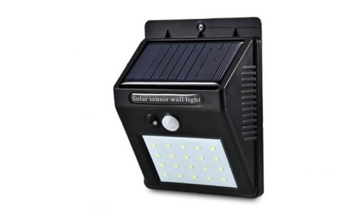 4 מנורה סולארית בעלת 20 לדים