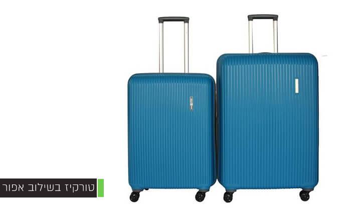 6 סט 3 מזוודות ענקיות SWISS VOYAGER
