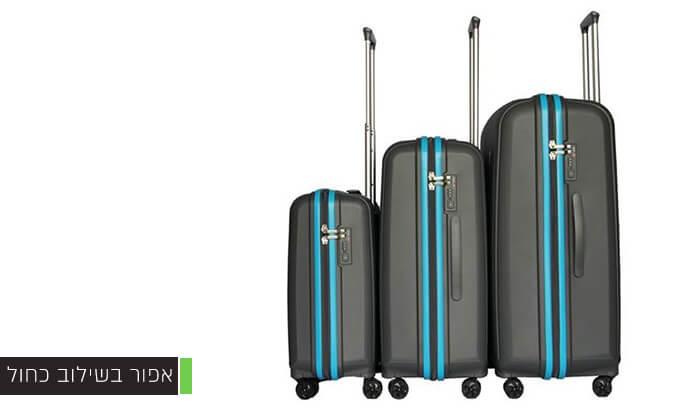 5 סט 3 מזוודות ענקיות SWISS VOYAGER