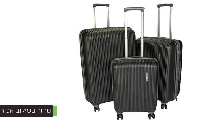 4 סט 3 מזוודות ענקיות SWISS VOYAGER
