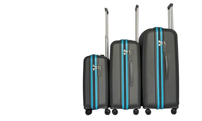 8 סט 3 מזוודות ענקיות SWISS VOYAGER
