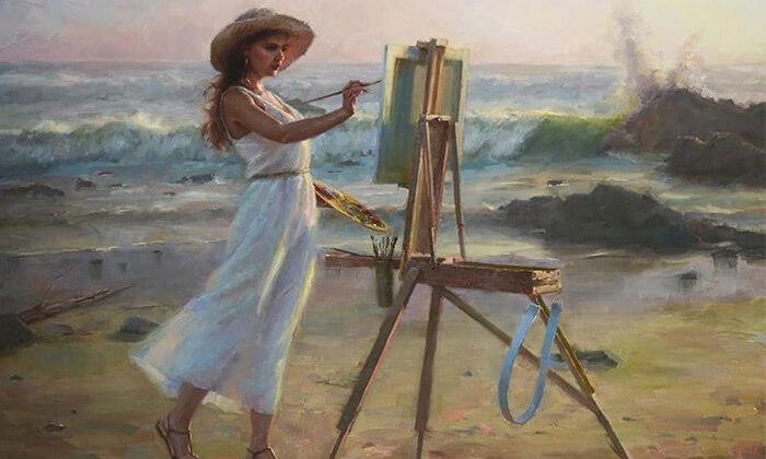 3 חוג ציור חודשי לילדים בסטודיו לציור, נס ציונה