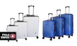 סט 3 מזוודות POLO SWISS