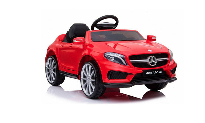 5 מכונית מרצדס ממונעת לילדים 12V עם שלט מקודד