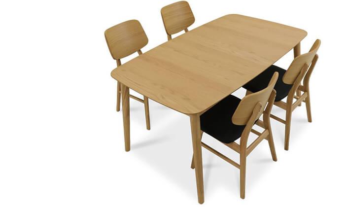 3 שמרת הזורע: פינת אוכל נפתחת עם 4/6 כיסאות