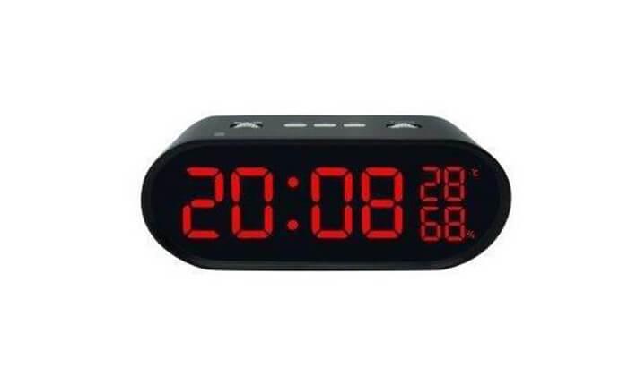 3 שעון רדיו דיגיטלי