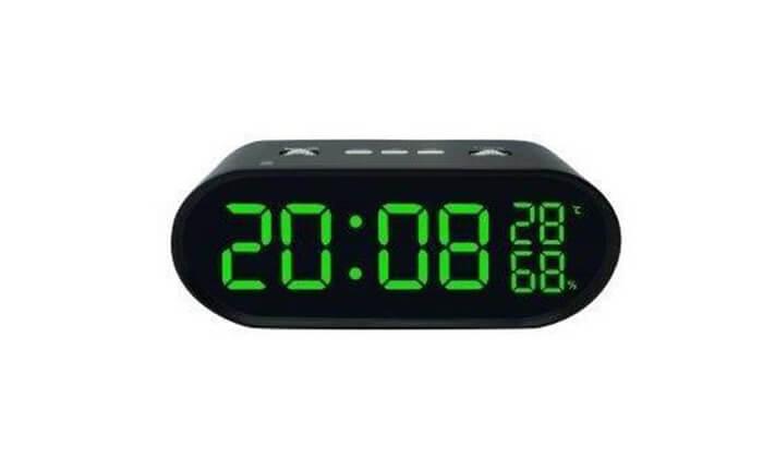 4 שעון רדיו דיגיטלי